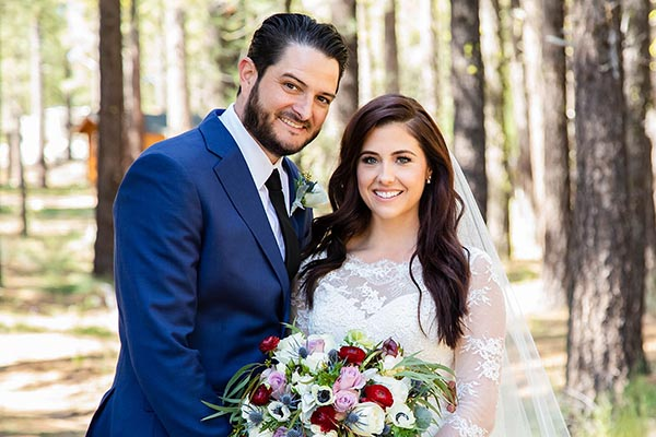 Alex + Lindsey's Graeagle California Wedding at Chalet View Lodge