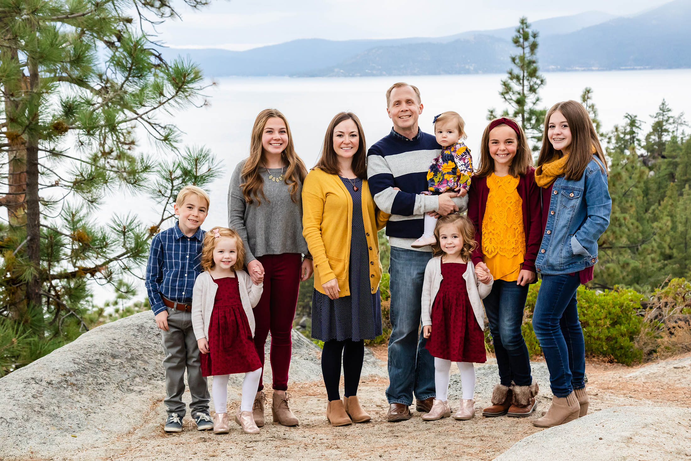 Lake Tahoe Family photo session with Reno Tahoe Photographer