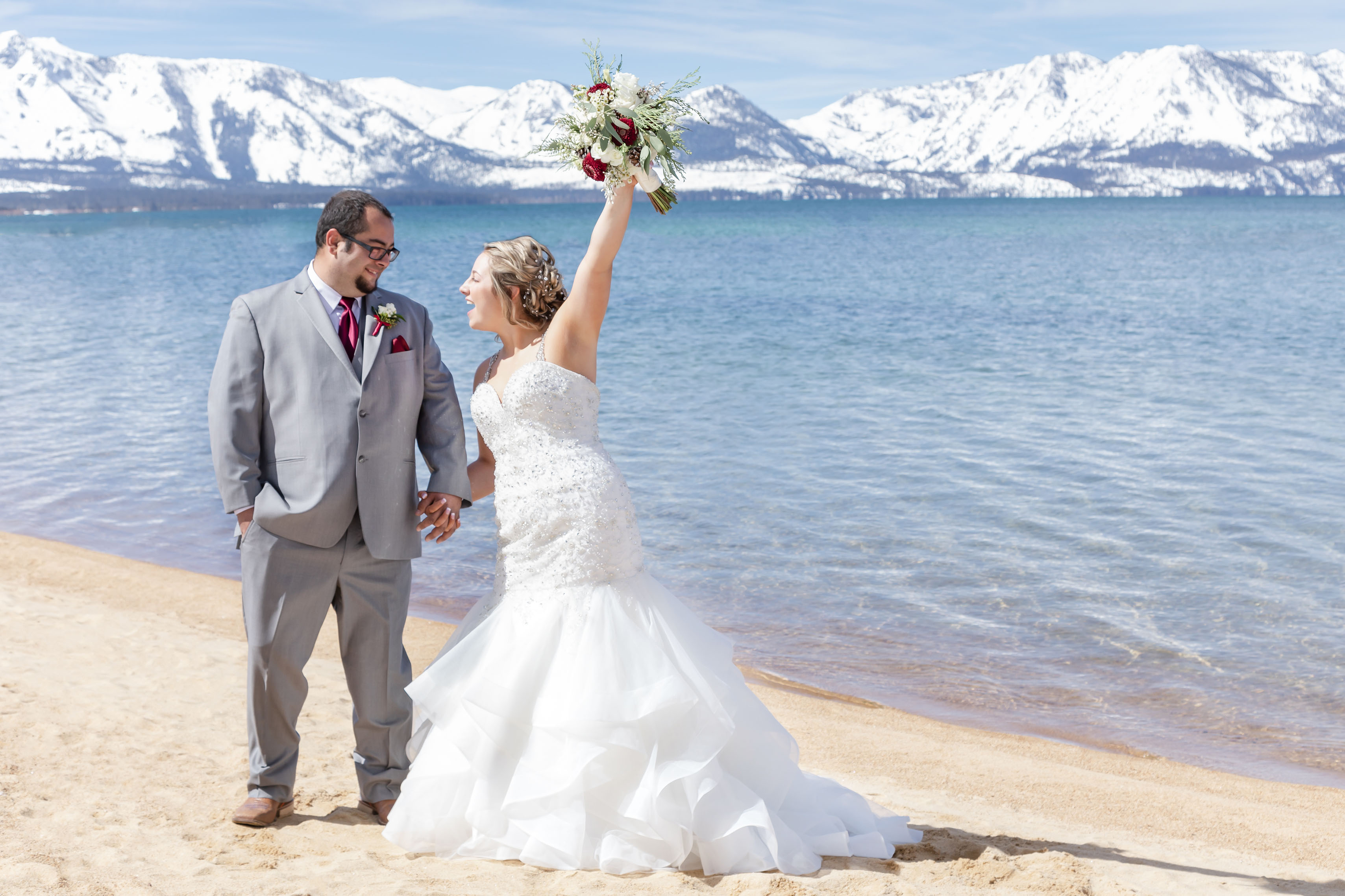 Lake Tahoe Wedding at The Landing Resort in South Lake, CA