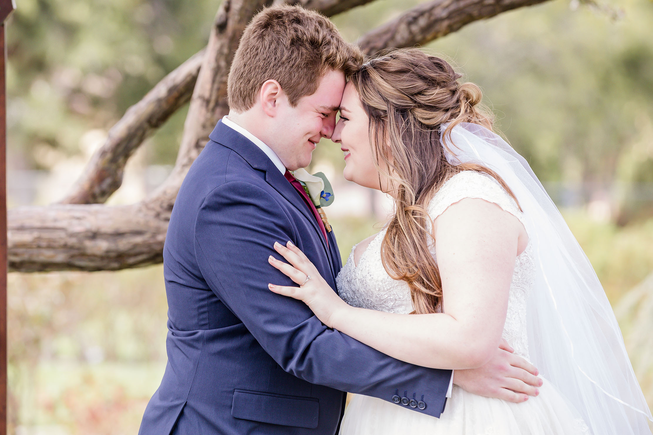 Spring Wedding at Idlewild Park in downtown Reno by Reno Tahoe Photographer