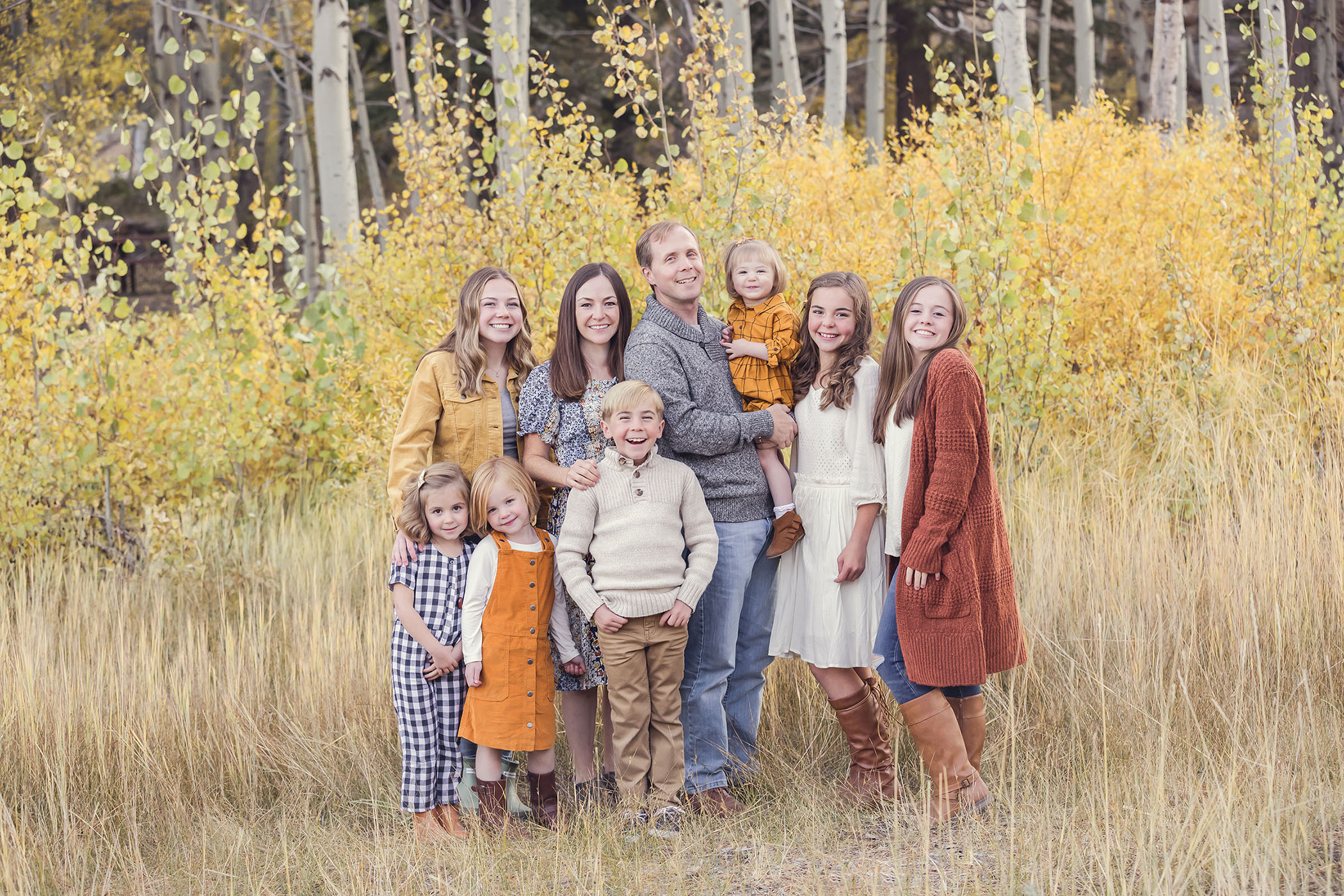 Lake Tahoe Fall Family Session