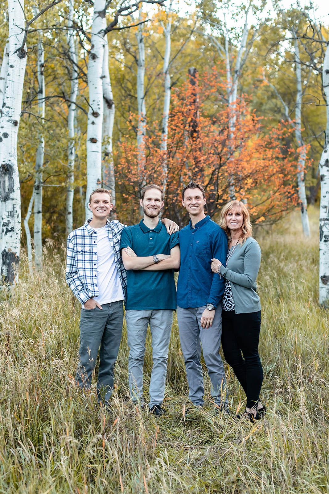 Utahfallfamilyphoto